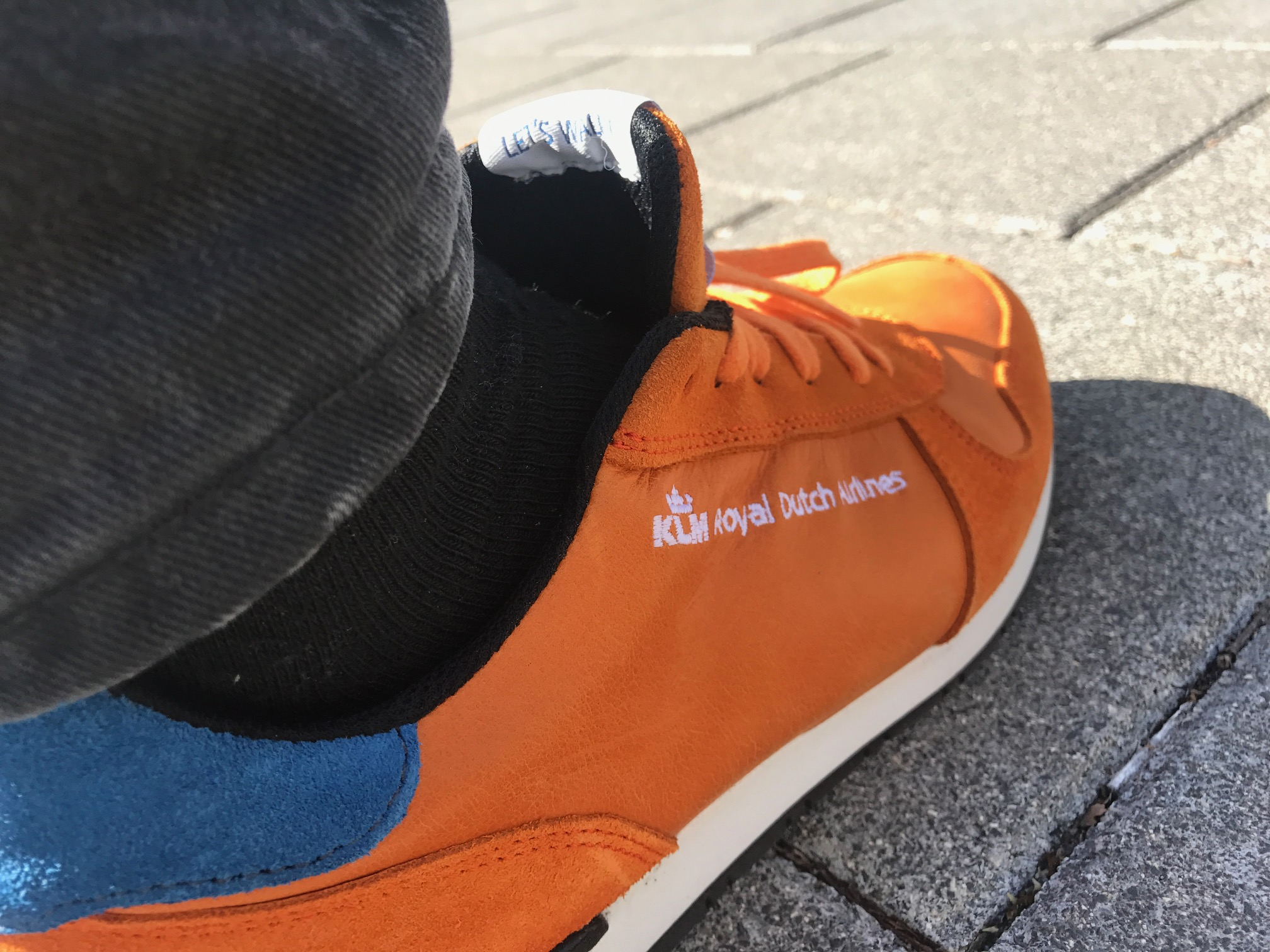 KLM Amsterdam sneakers