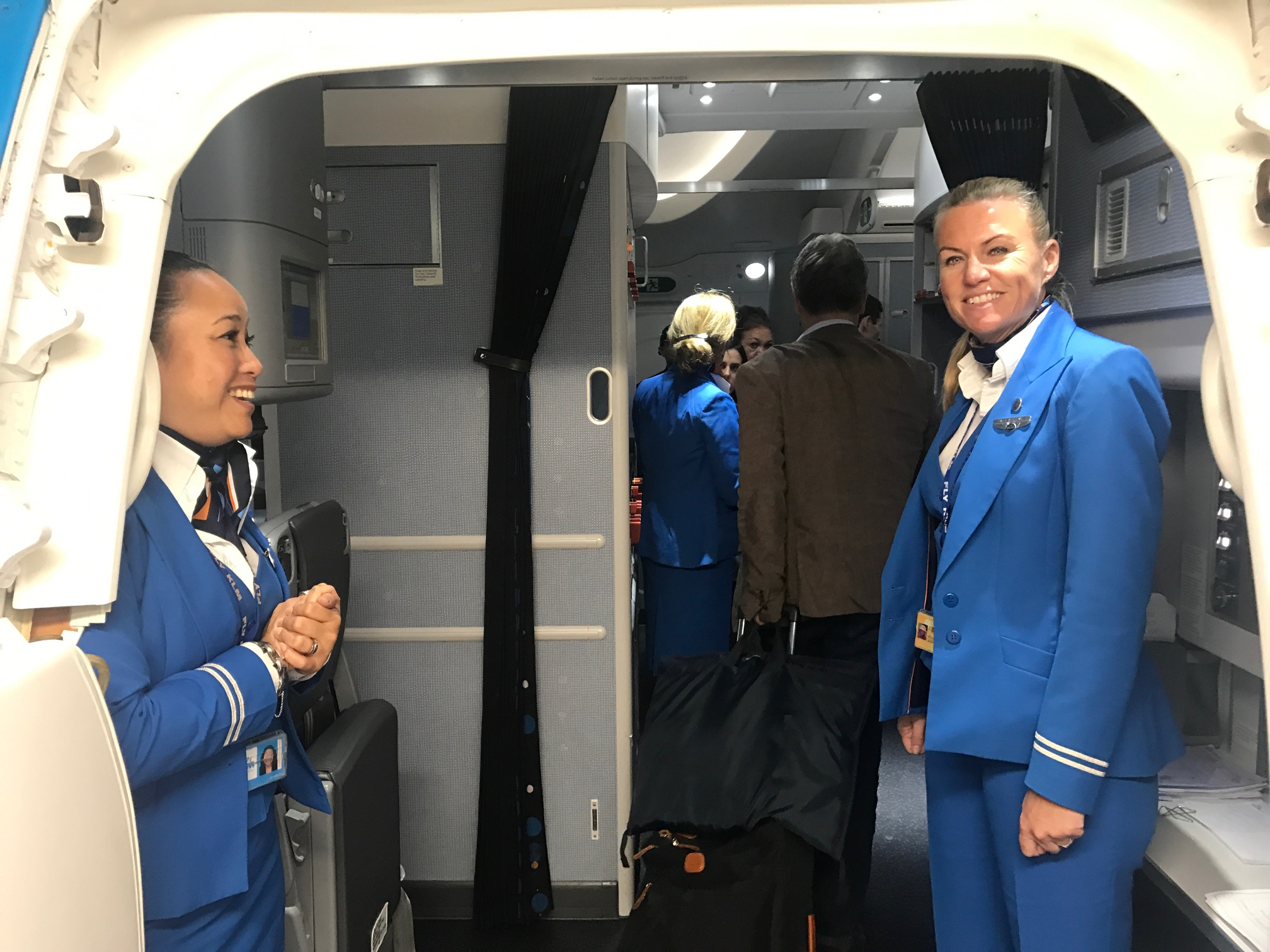 KLM service